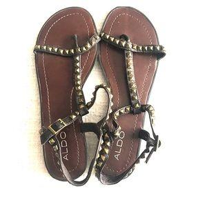 Aldo gladiator sandals, size 9/39, brand new